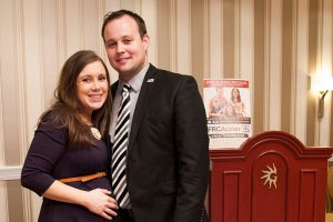 Josh Duggar's Wife, Anna, Is the Only One to Post About the Duggar Ugly Sweater Christmas Party So Far