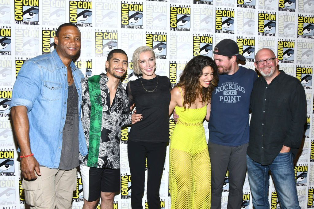 Arrowverse stars from the show at the heart of the CW, 'Arrow'