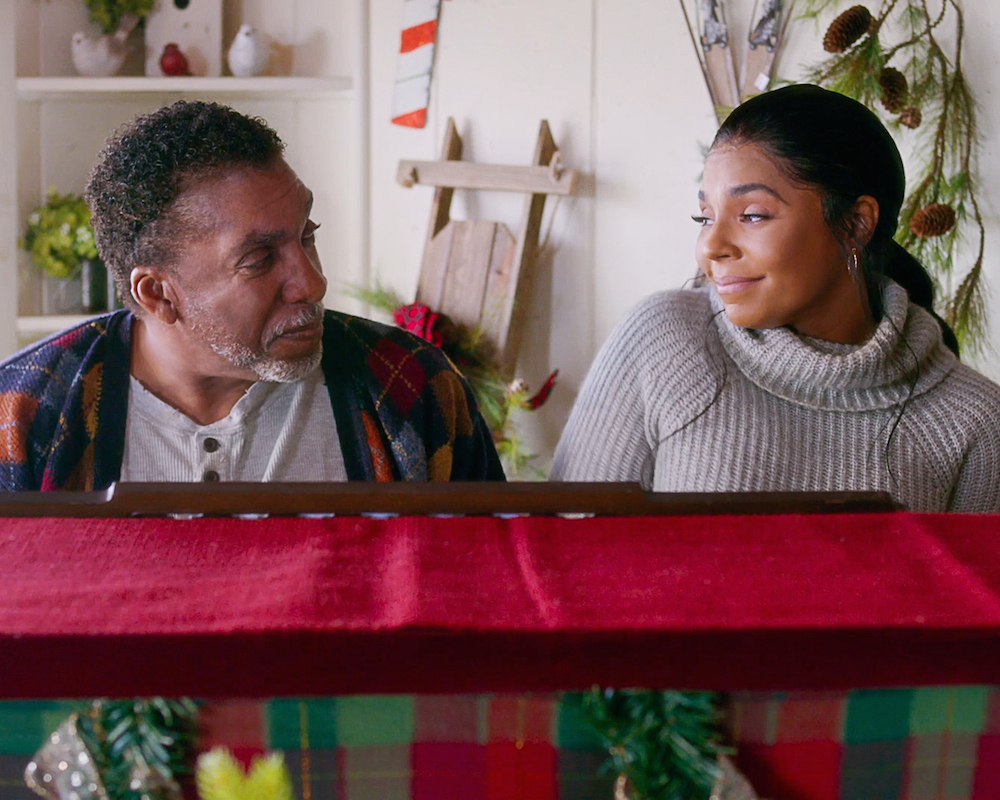 A Christmas Winter Song: Ashanti and Stan Shaw