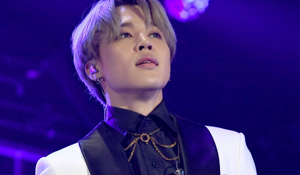 Jimin of BTS performs onstage during 102.7 KIIS FM's Jingle Ball 2019 Presented by Capital One at the Forum on December 6, 2019 in Los Angeles, California.