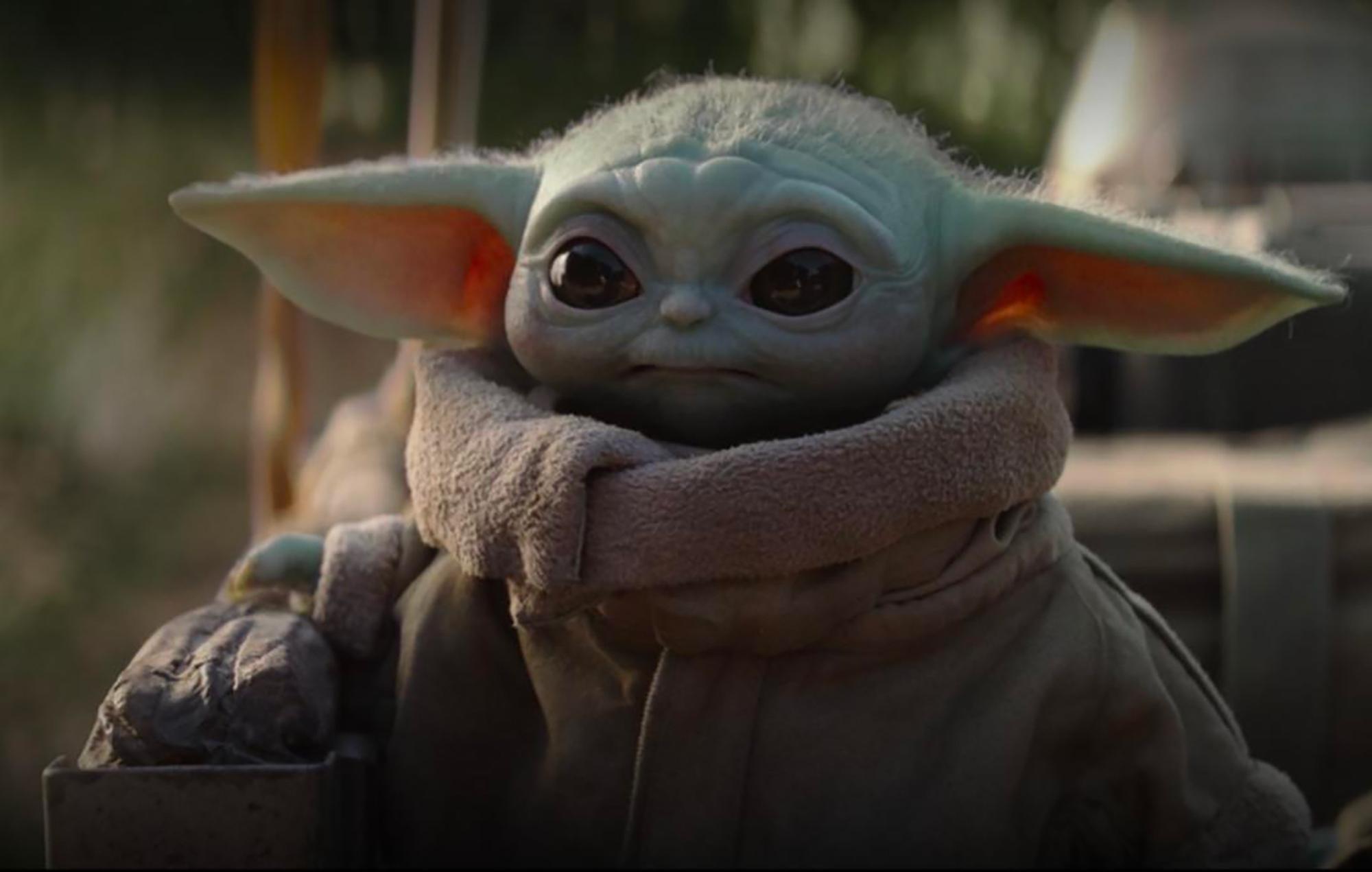 Baby Yoda — whose real name is Grogu — in 'The Mandalorian'