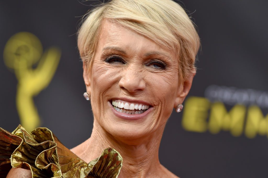 Barbara Corcoran walks the red carpet