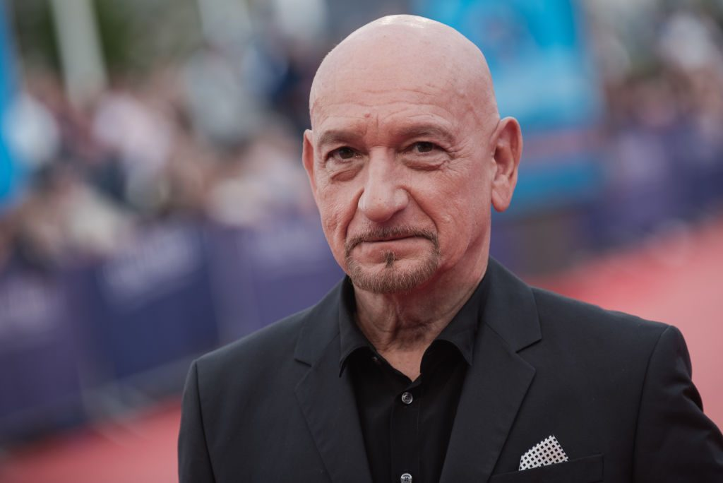 Ben Kingsley arrives at the award ceremony of the 44th Deauville American Film Festival.