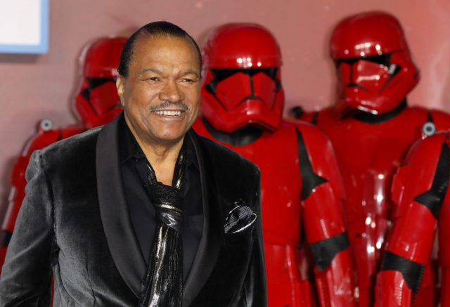 Billy Dee Williams at the 'Star Wars: The Rise of Skywalker' European Premiere