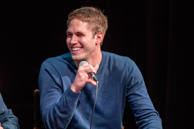 Blake Jenner speaks onstage