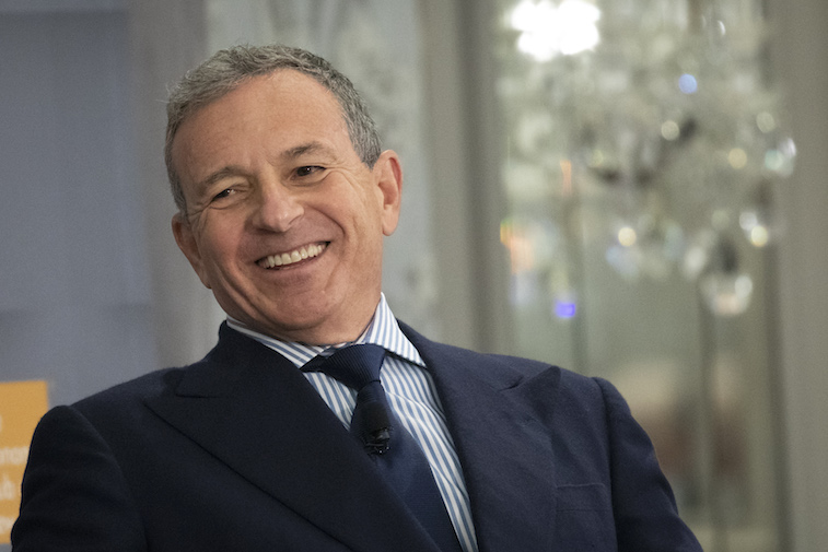 Bob Iger sits down for an interview
