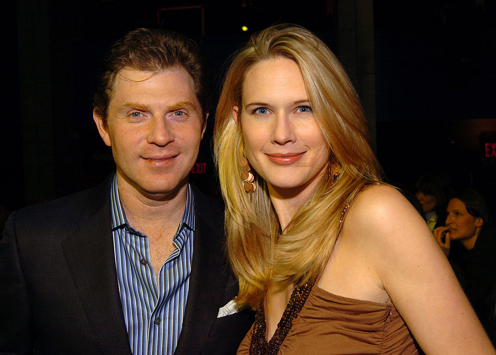 Stephanie March and Bobby Flay