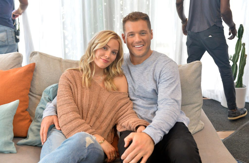 Cassie Randolph and Colton Underwood star in a new ad campaign for Tubi, the worlds largest free movie and TV streaming service on October 08, 2019 in Mar Vista, California.