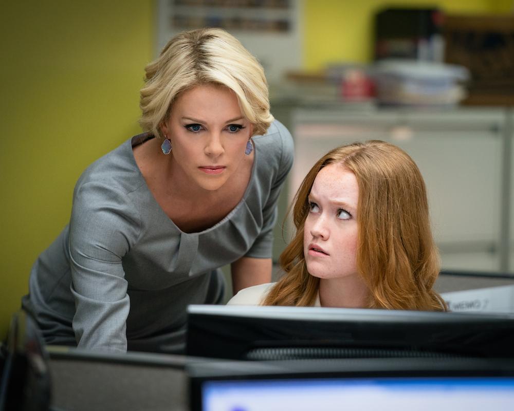 Bombshell: Charlize Theron and Liv Hewson