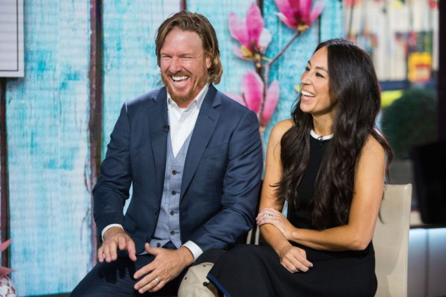 Chip and Joanna Gaines Just Recycled Their Christmas Tree in the Most Genius Way