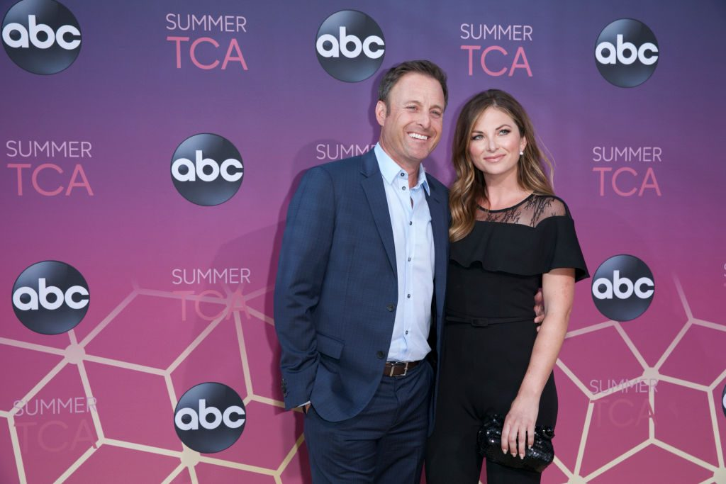 Chris Harrison and Lauren Zima | Troy Harvey via Getty Images