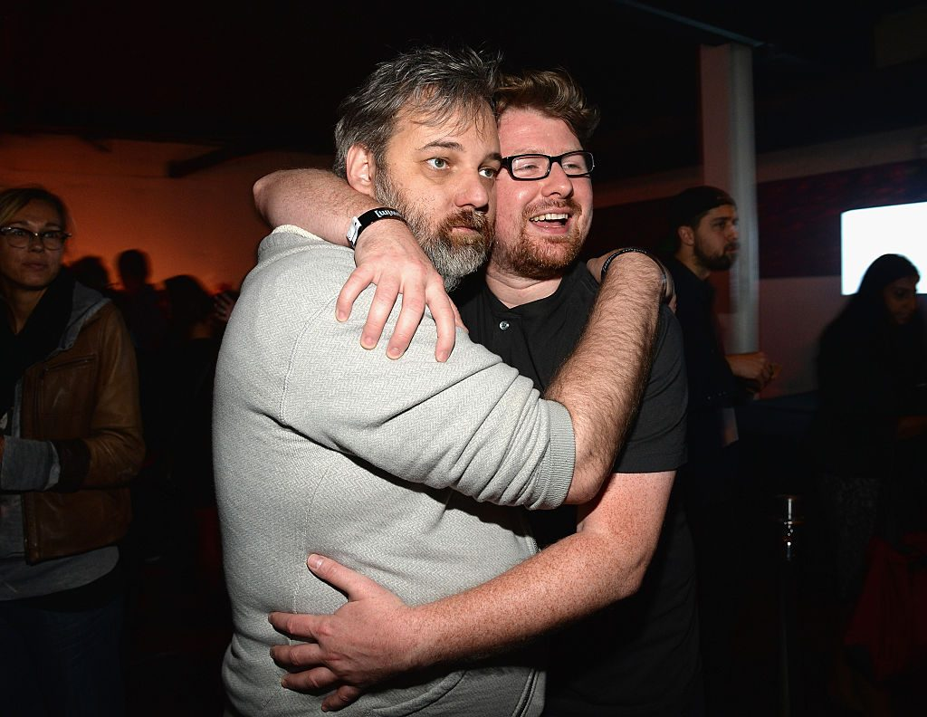 Dan Harmon and Justin Roiland 2015 Adult Swim Upfront Party