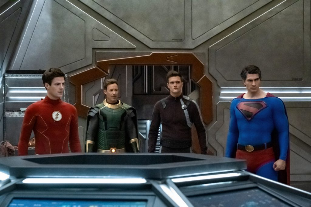 Superman joins The Flash in Crisis on Infinite Earths