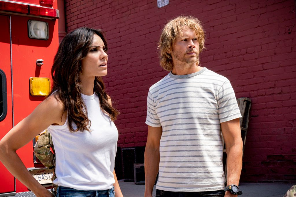 Daniela Ruah and Eric Christian Olsen NCIS Los Angeles |Monty Brinton/CBS via Getty Images