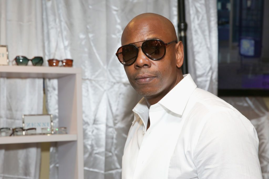 Dave Chappelle at an event in 2018