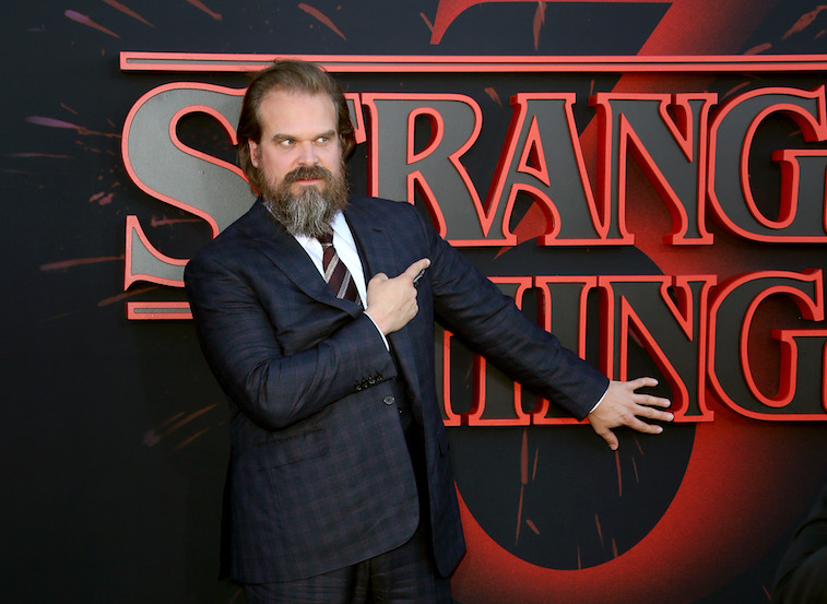 David Harbour from Stranger Things
