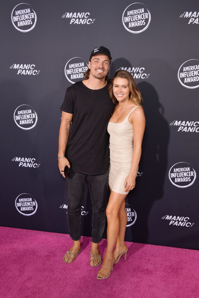 Dean Unglert and Caelynn Miller-Keyes | Matt Winkelmeyer/Getty Images for American Influencer Awards