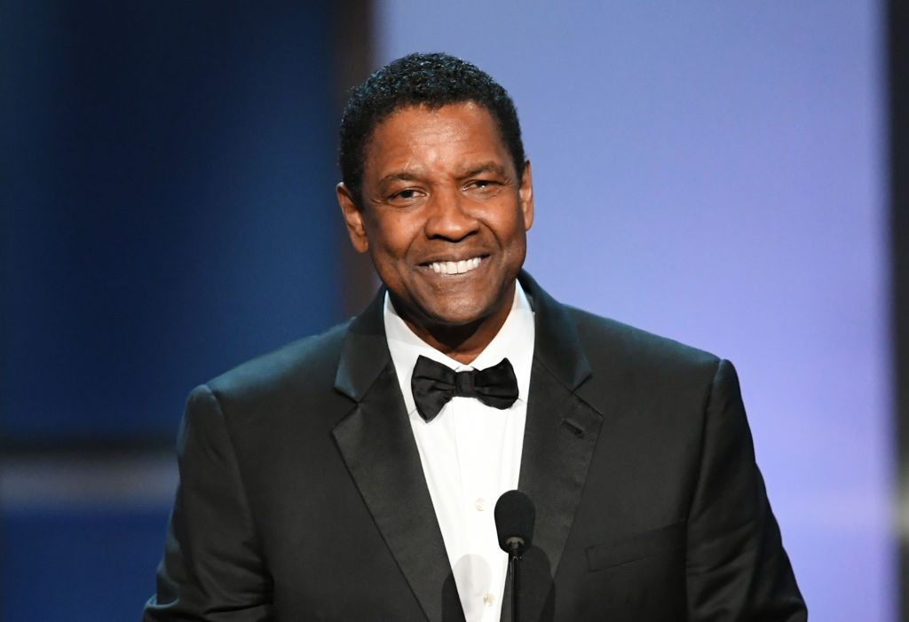 Denzel Washington at an event in 2019