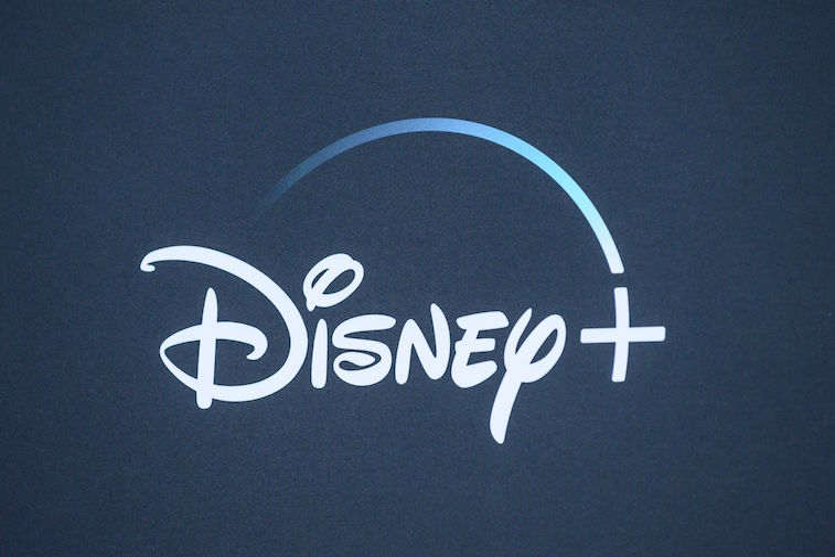 The Disney+ logo background