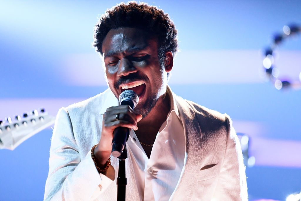 Recording artist Childish Gambino performs onstage during the 60th Annual GRAMMY Awards