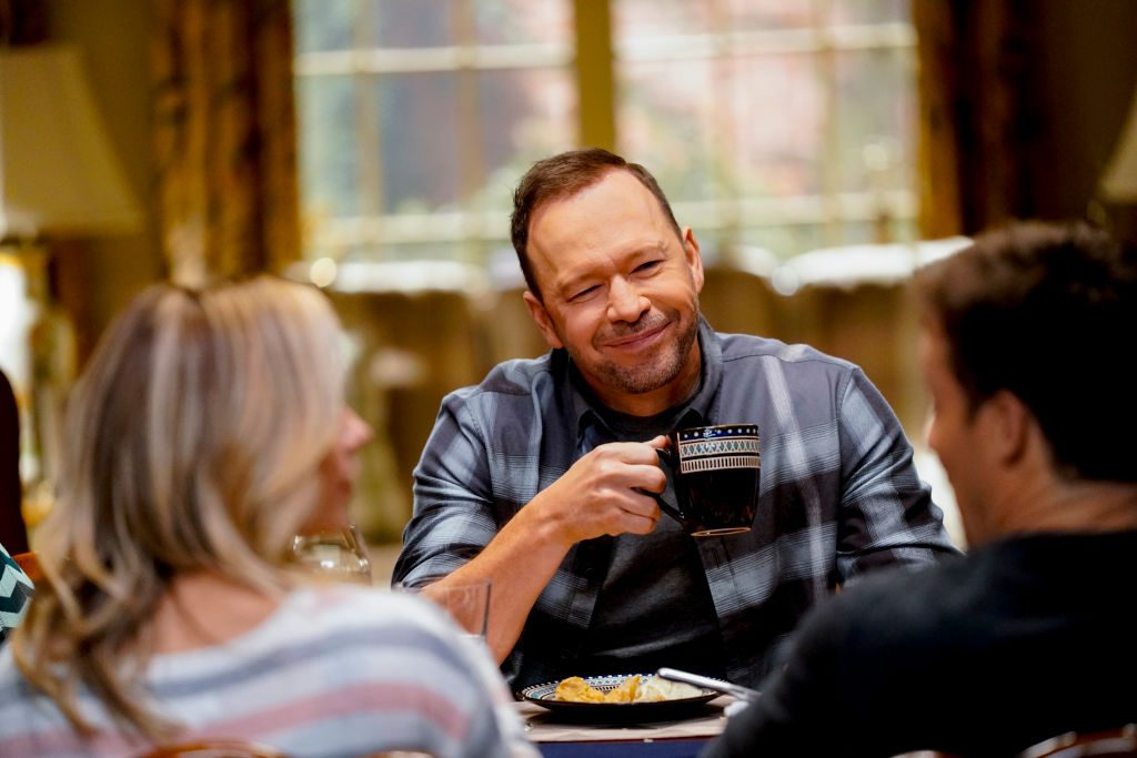 Donnie Wahlberg on the set of 'Blue Bloods.' | John Paul Filo/CBS via Getty Images