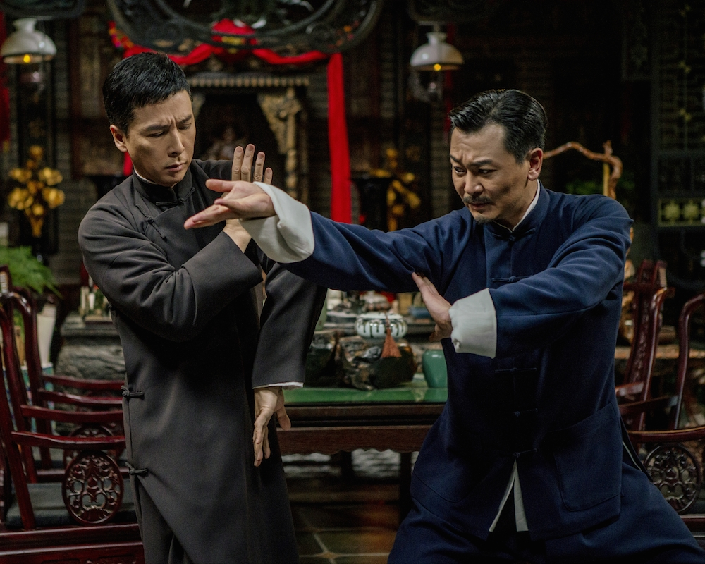 Donnie Yen and Wu Yue