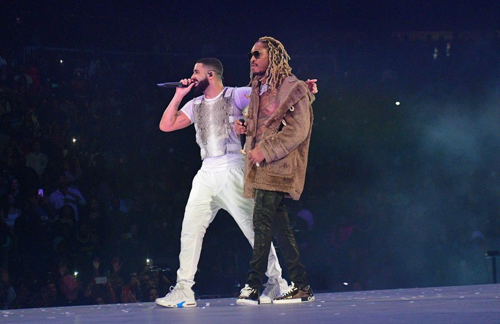 Drake and Future perform in concert