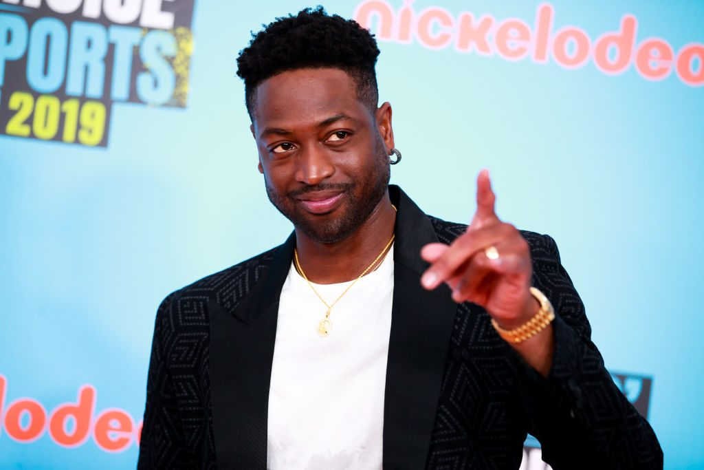 Dwyane Wade at an event