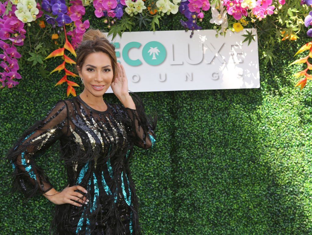 Farrah Abraham poses before an event