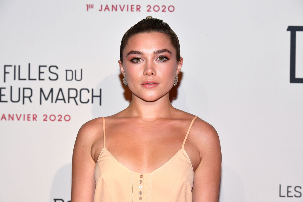 Florence Pugh on the red carpet