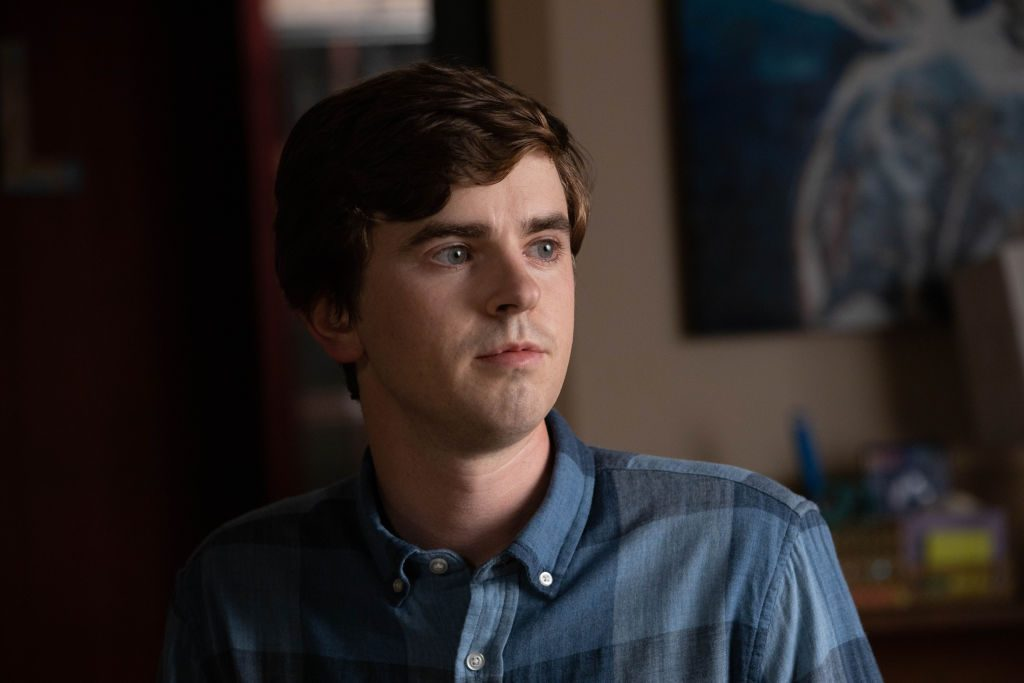 Freddie Highmore on The Good Doctor | Jack Rowand via Getty Images