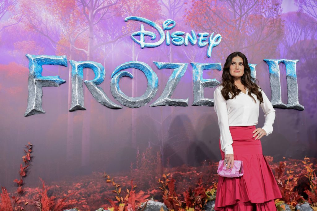 "Idina Menzel attends the European Premiere of Disney's ""Frozen 2"""