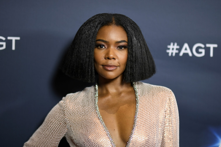 Gabrielle Union on the red carpet