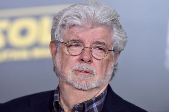 George Lucas at the premiere of 'Solo: A Star Wars Story'