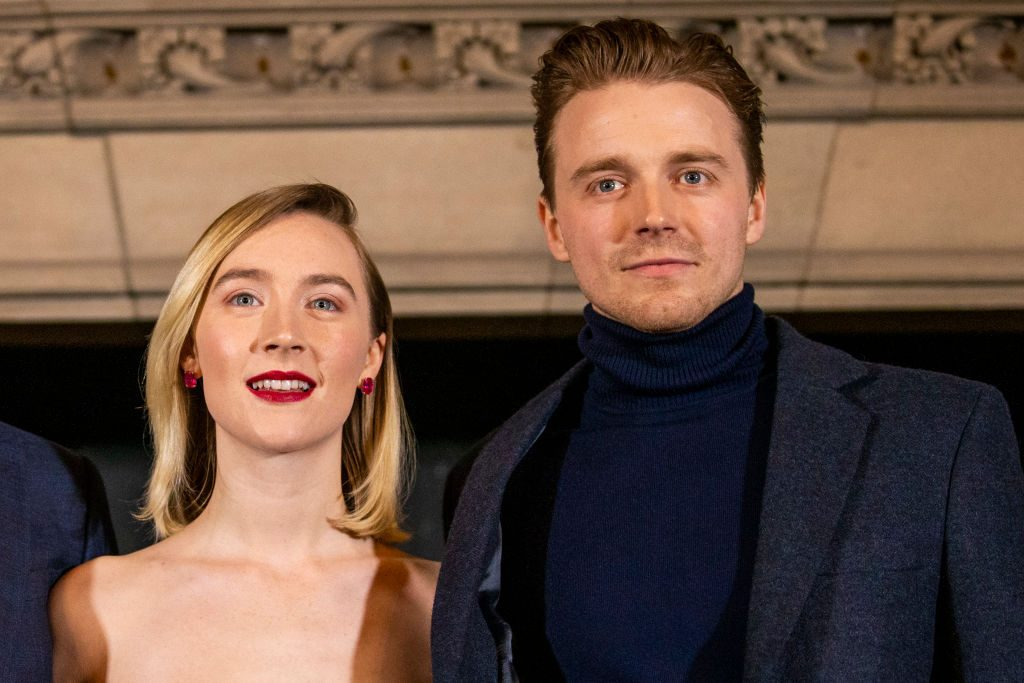 Saoirse Ronan and Jack Lowden