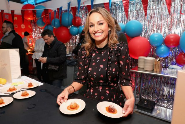 Giada De Laurentiis attends Food Network's 25th Birthday Party Celebration on Oct. 13, 2018 in New York City