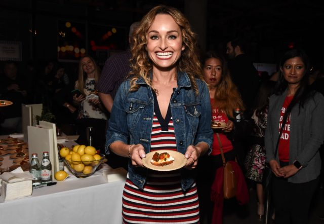 Giada De Laurentiis at the Food Network & Cooking Channel New York City Wine & Food Festival on Oct. 13, 2019