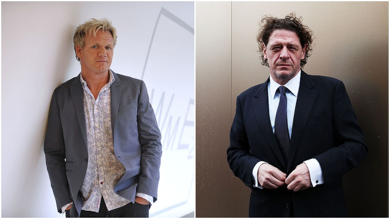 Gordon Ramsay and Marco Pierre White