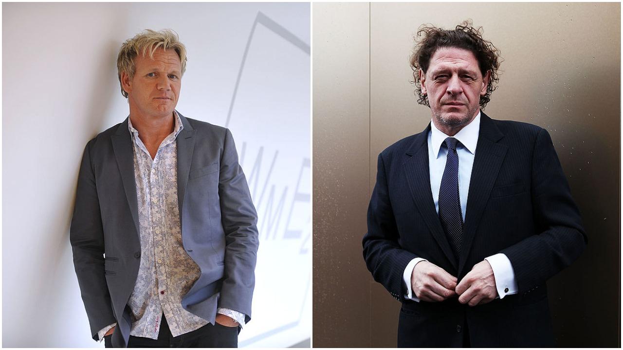 Gordon Ramsay and Marco Pierre White