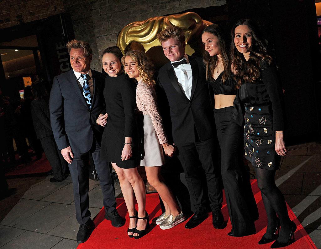 Gordon Ramsay and family
