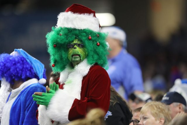A sports fan embraces his inner Grinch