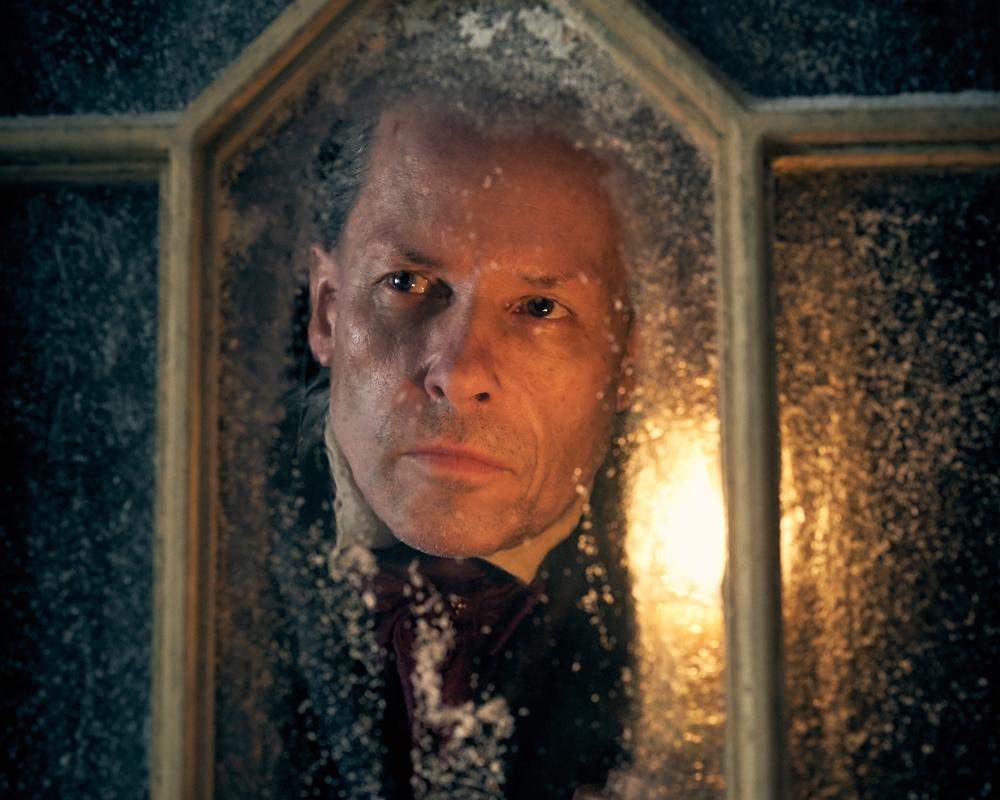 Guy Pearce in A Christmas Carol