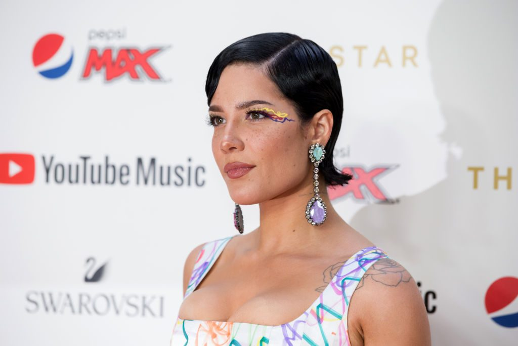 Halsey arrives for the 33rd Annual ARIA Awards 2019 at The Star on November 27, 2019