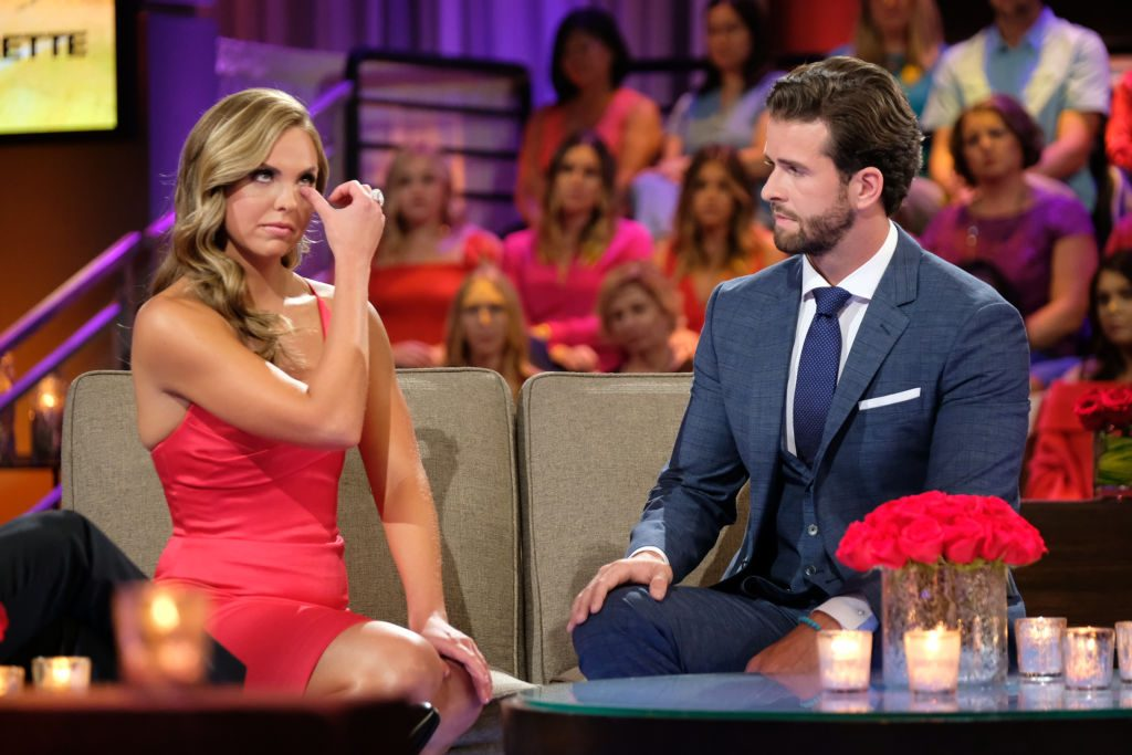 Hannah Brown and Jed Wyatt on 'The Bachelorette' reunion