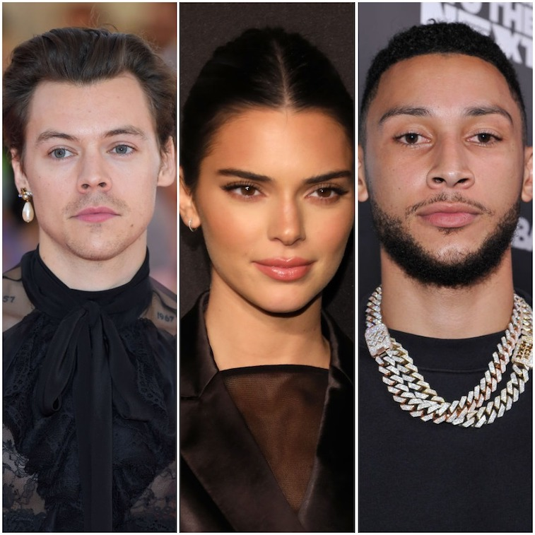 Harry Styles, Kendall Jenner, and Ben Simmons