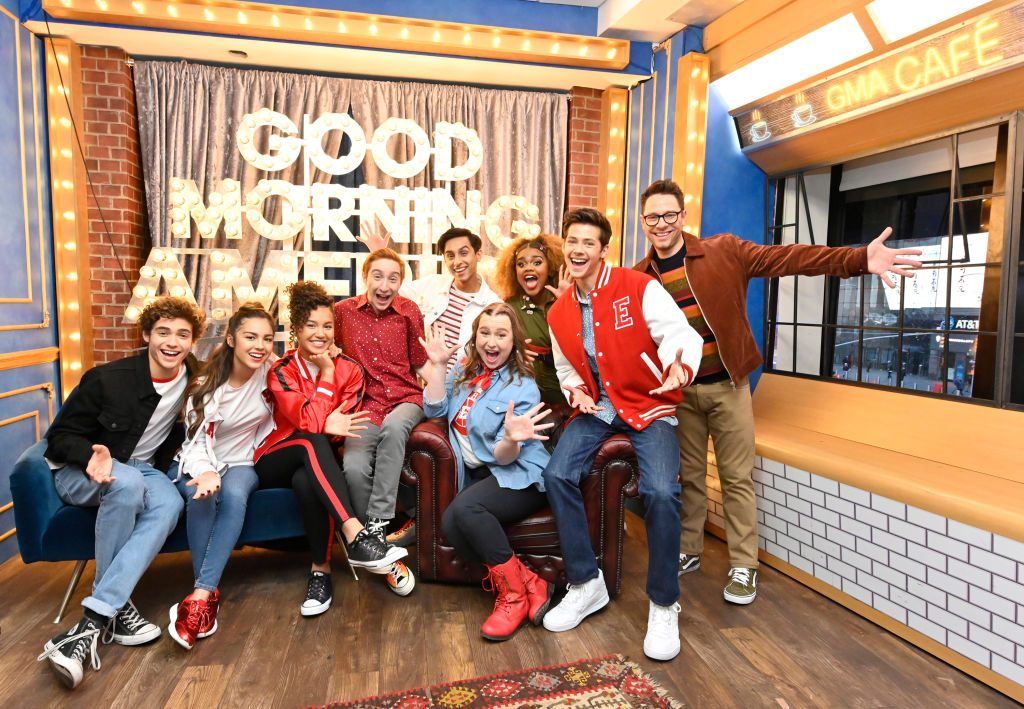 The cast of 'High School Musical: The Musical: The Series'