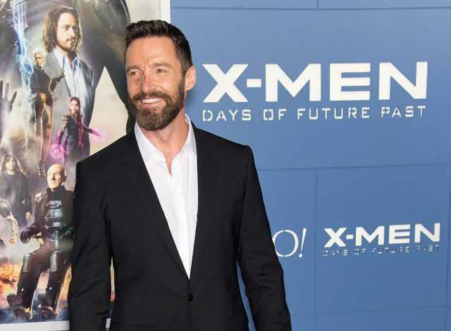 Hugh Jackman at the 'X-Men: Days Of Future Past' premiere | Gilbert Carrasquillo/FilmMagic
