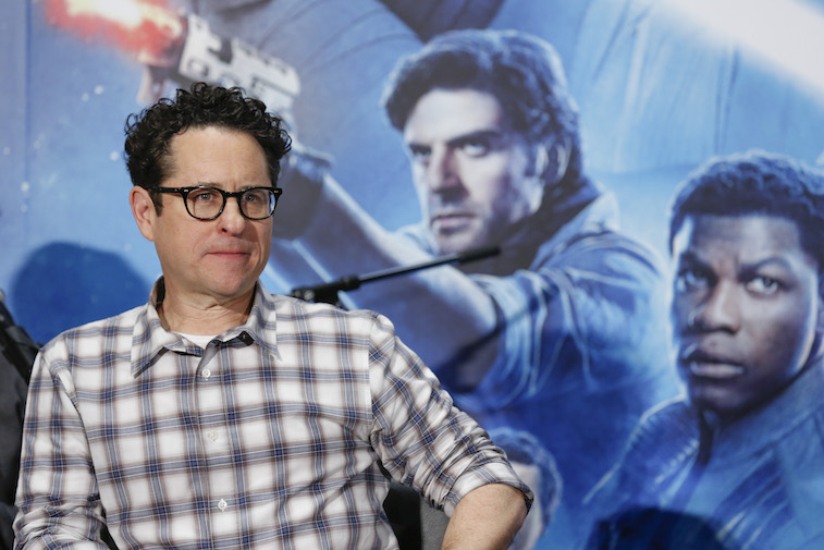 J.J. Abrams at a Star Wars press conference
