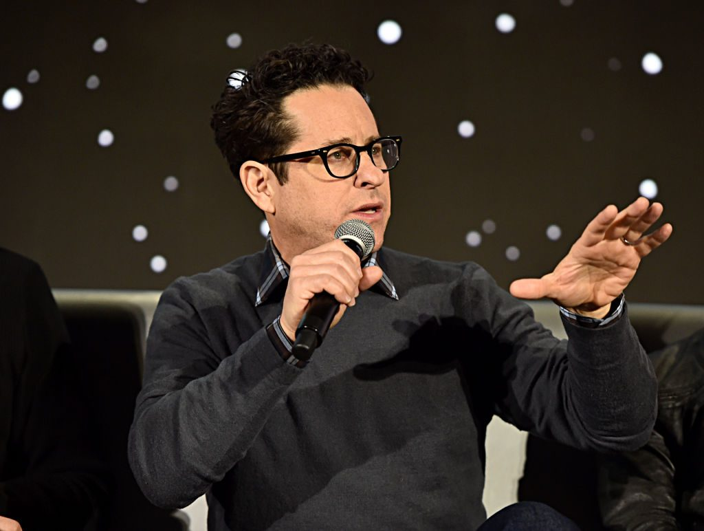 J.J. Abrams at the Star Wars: The Rise of Skywalker press conference