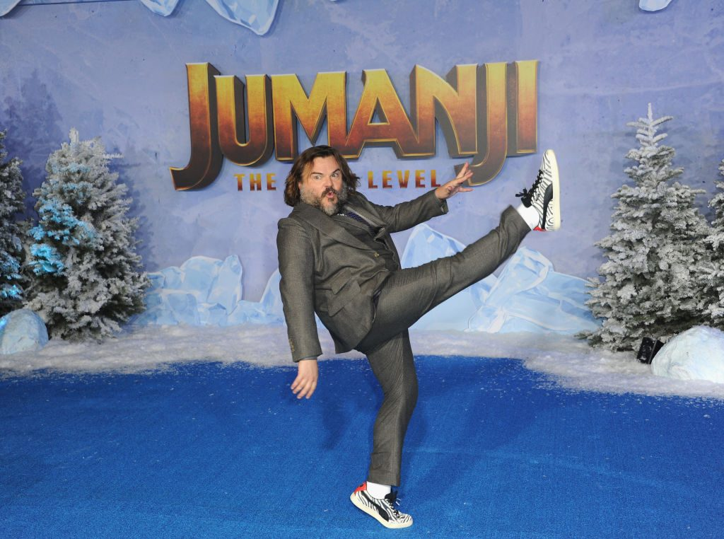 Jack Black at the premiere of 'Jumanji: The Next Level'